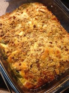 Baked Zucchini Au Gratin