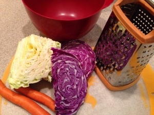 Cabbage Carrots