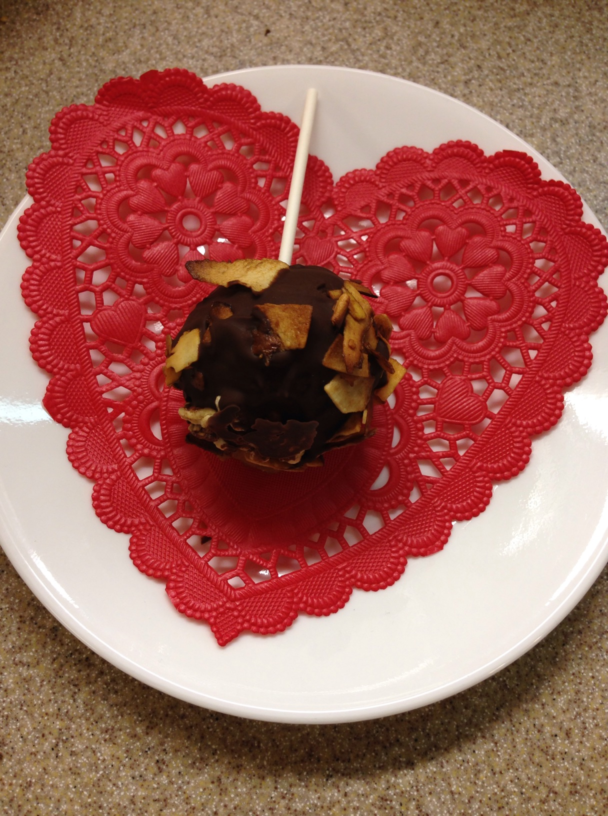 Image Result For Cake Balls Coating Chocolate Chips