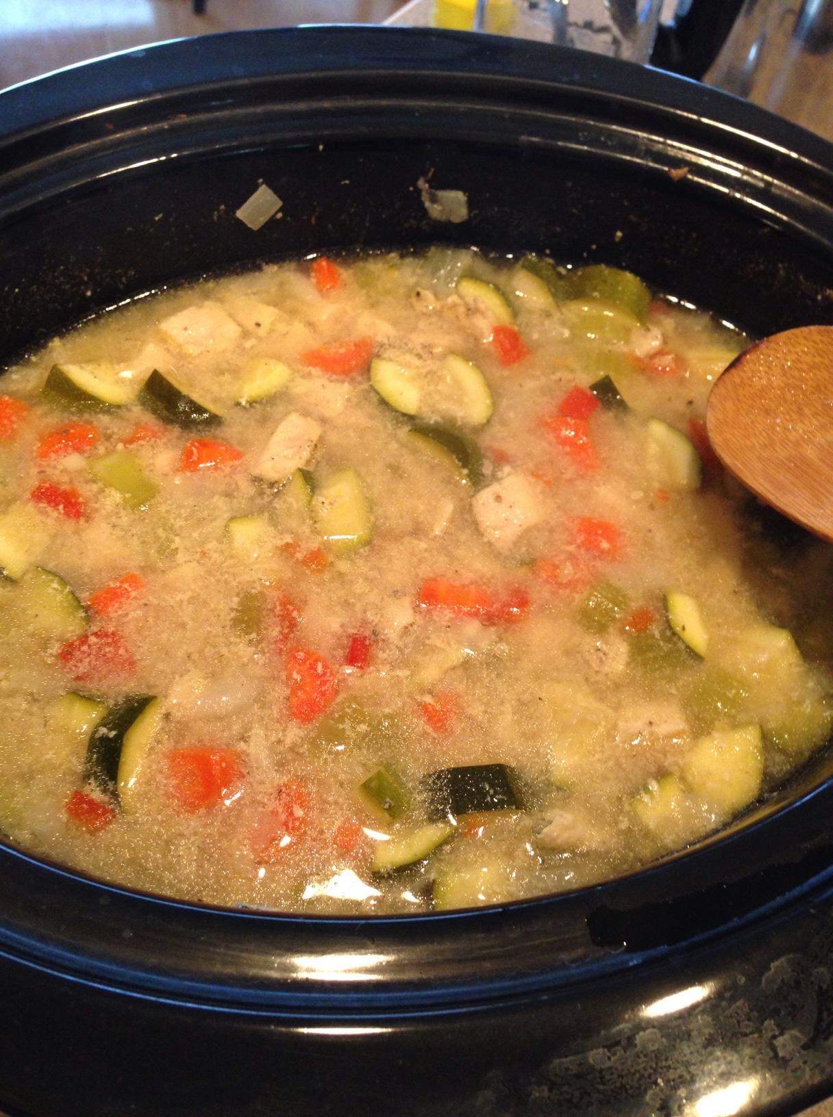 Cooking Brown Rice? Chicken Crockpot