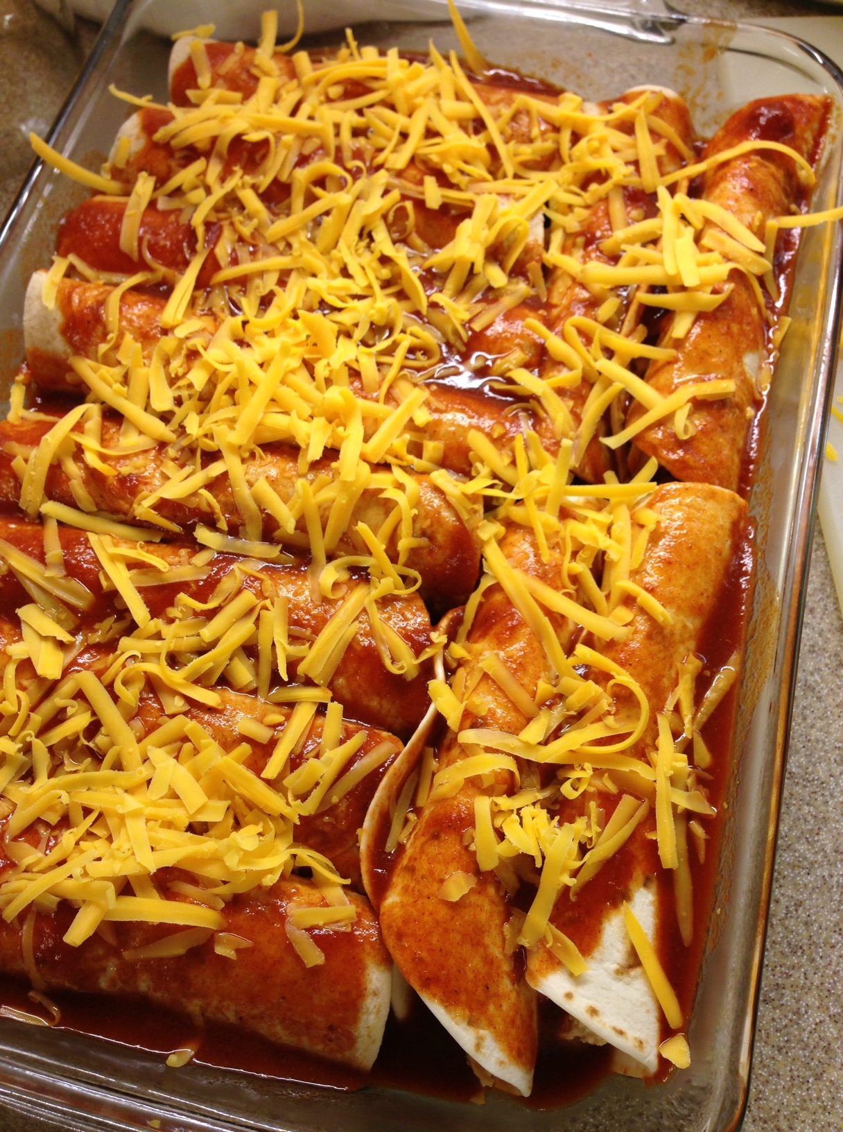 Easy chicken enchiladas mrs criddles kitchen chicken enchilada cheese forumfinder Choice Image