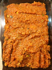 Layered Meat Sauce