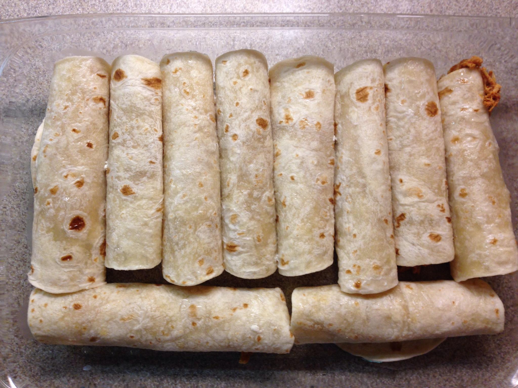 Sour Cream Chicken Enchiladas - Mrs. Criddles Kitchen