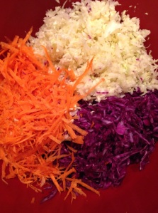 Shredded Veggies