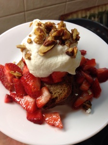 Strawberry Almond Shortcake
