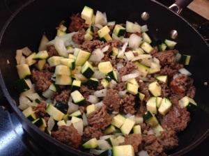 Veggies Brown Meat