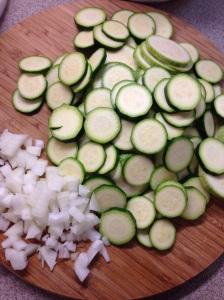 Zucchini Onion