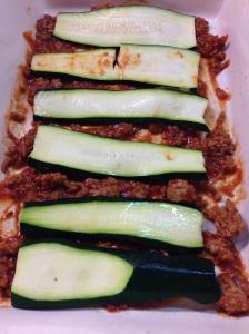 Spaghetti Zucchini Layer