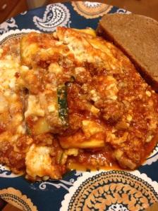 Zucchini Cheesy Lasagna Casserole 2